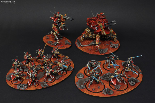 Adeptus Mechanicus Skitarii Army painted by Rafal Maj (BloodyBeast.com)