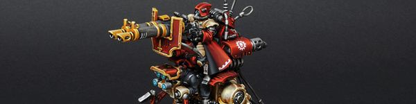 Adeptus Mechanicus Ironstrider Ballistarius & Sydonian Dragoon