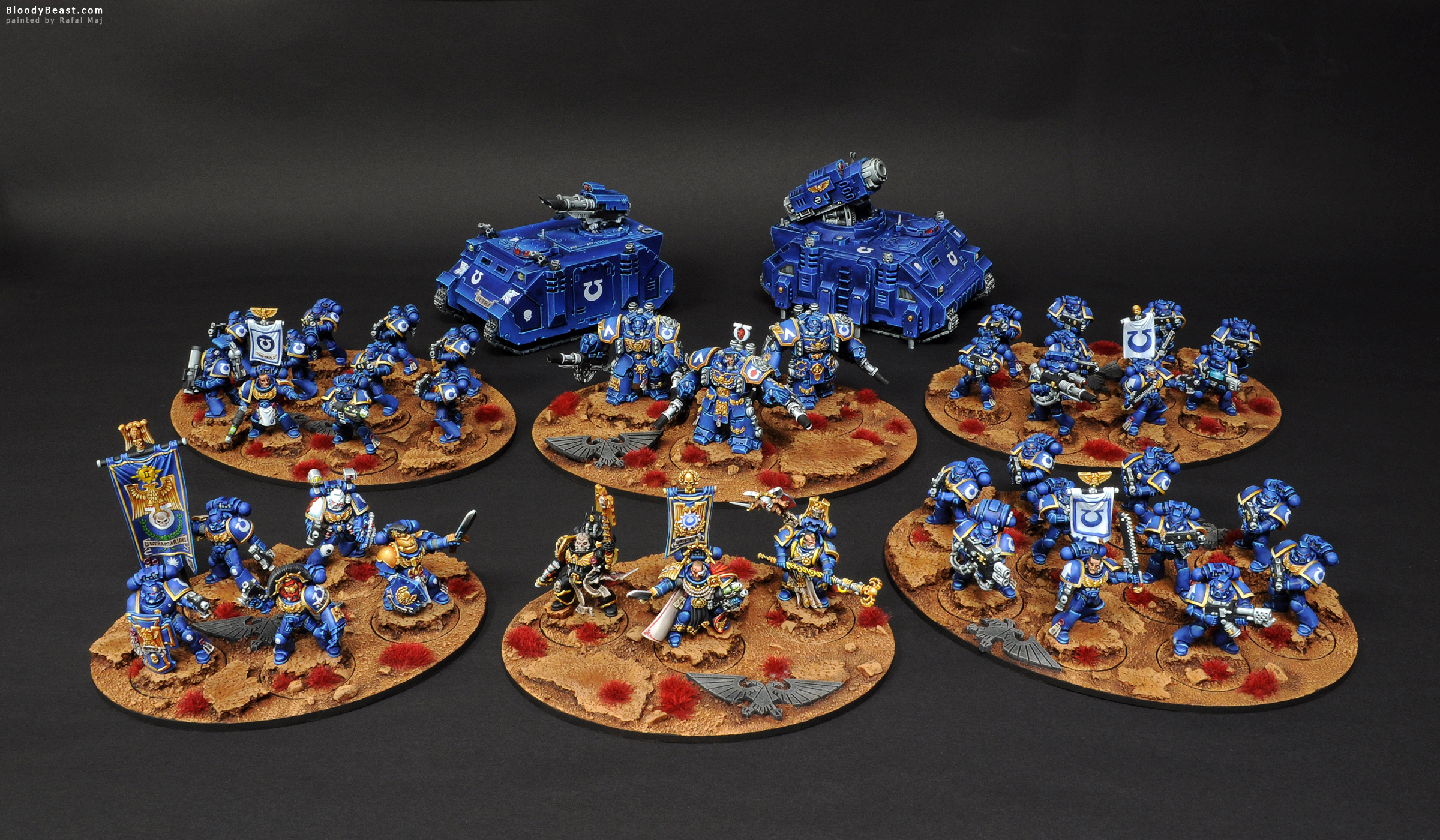 Ultramarines Army Space Marines U...