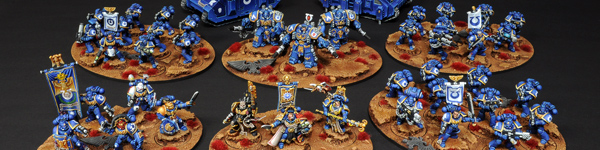 Space Marines Ultramarines Army