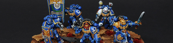 Space Marines Ultramarines Command Squad