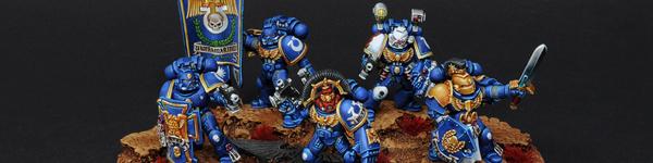 Space Marines Ultramarines Command Squad