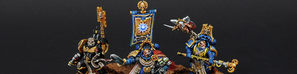 Space Marines Ultramarines Commanders