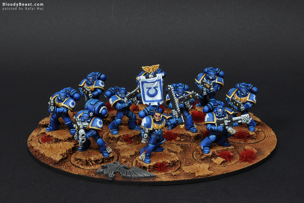 Blog How to paint Khorne Space Marines
