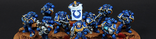 Space Marines Ultramarines Tactical Squad