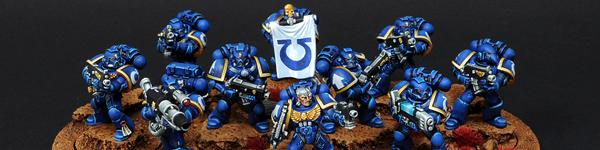 Space Marines Ultramarines Tactical Squad