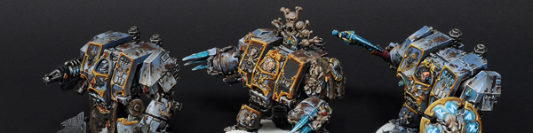 Space Wolves Dreadnoughts