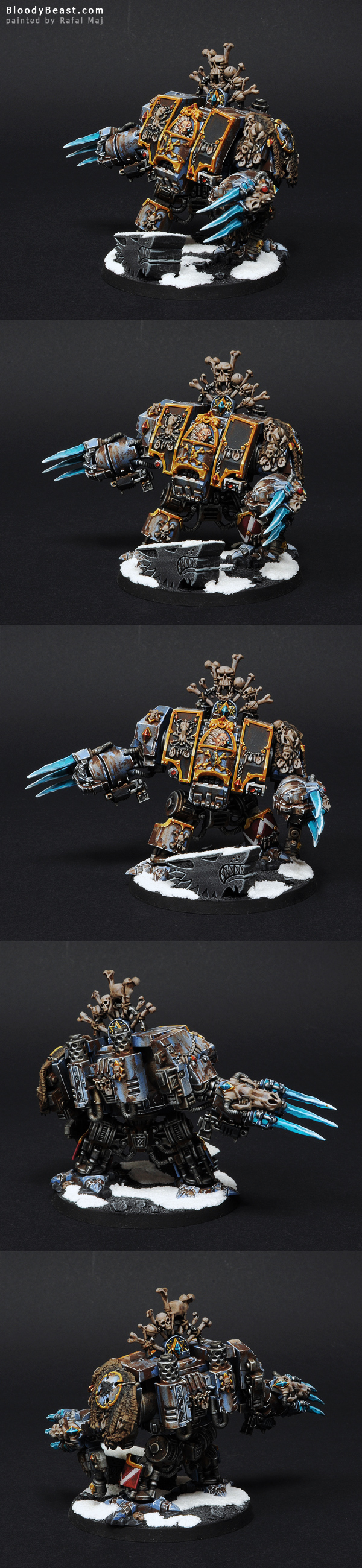 Space Wolves Murderfang painted by Rafal Maj (BloodyBeast.com)