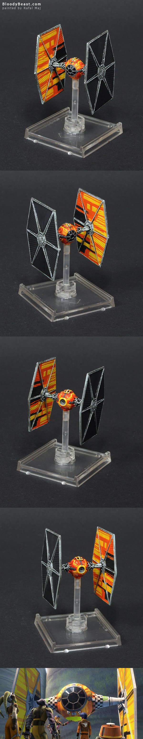 Star Wars X-Wing Tie Fighter