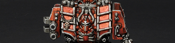 Skulltakers Chaos Space Marines Dreadnought