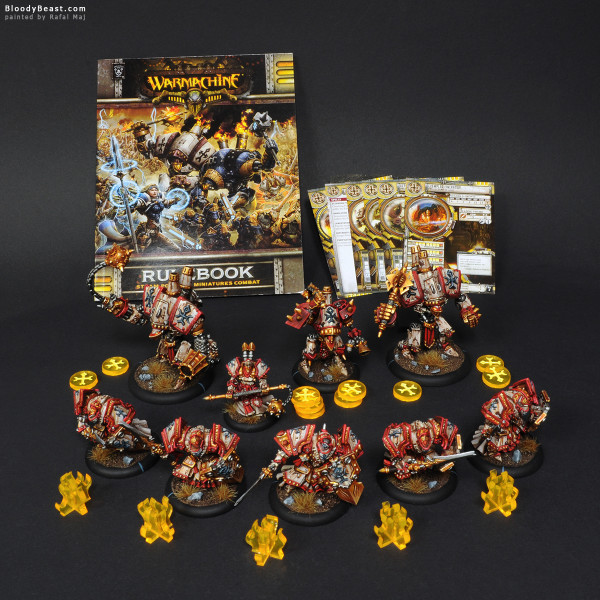 Protectorate of Menoth Army & Extras painted by Rafal Maj (BloodyBeast.com)