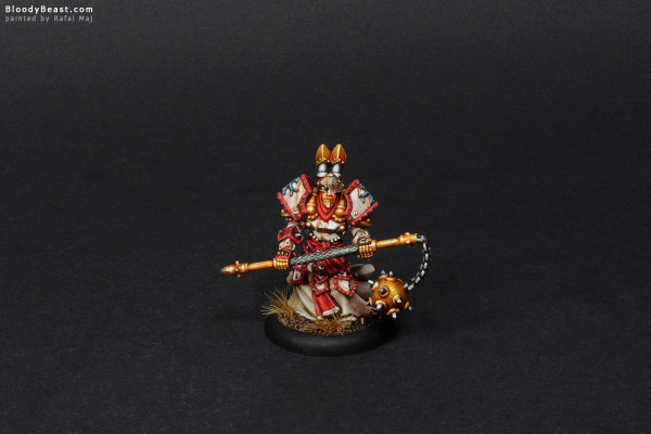 Protectorate of Menoth Kreoss painted by Rafal Maj (BloodyBeast.com)