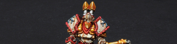 Protectorate of Menoth High Exemplar Kreoss