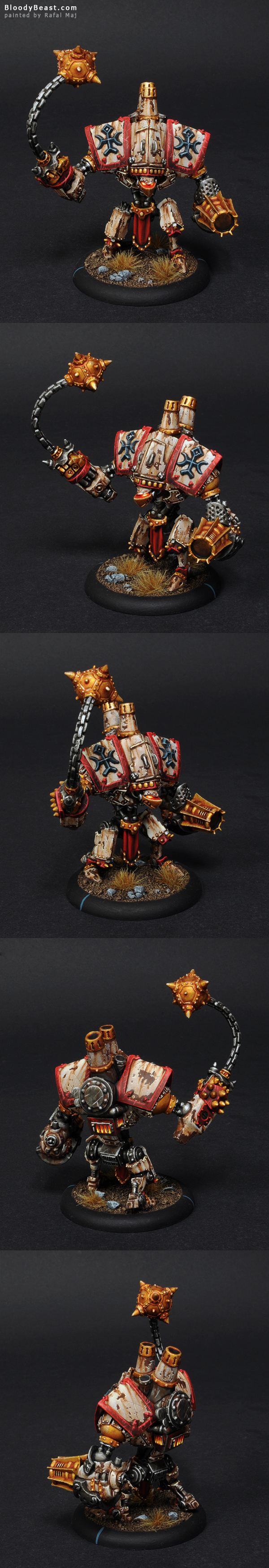 Protectorate of Menoth Vanquisher painted by Rafal Maj (BloodyBeast.com)