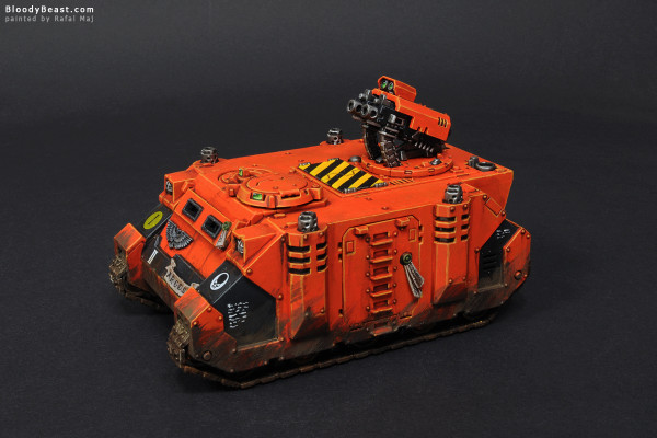 Astral Tigers Razorback painted by Rafal Maj (BloodyBeast.com)