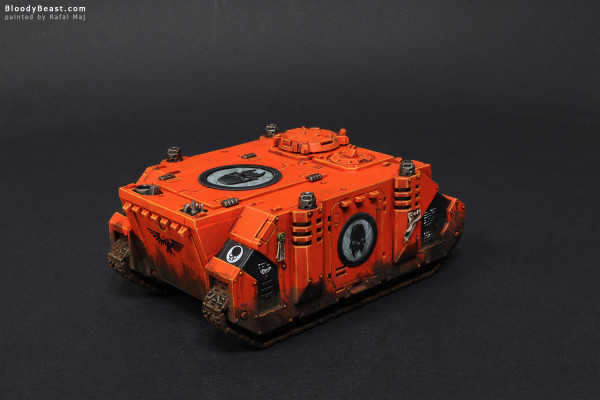 Astral Tigers Rhino painted by Rafal Maj (BloodyBeast.com)