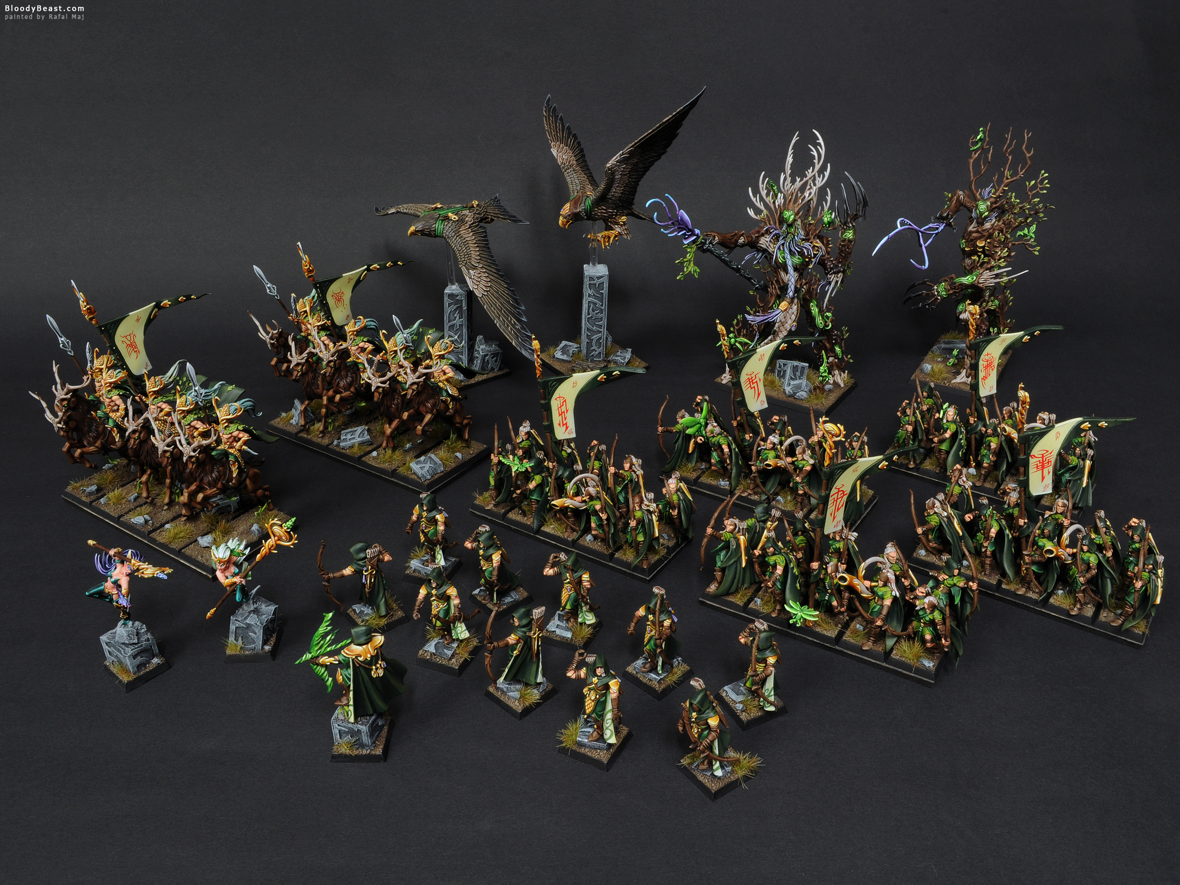 how to play wood elves warhammer 2