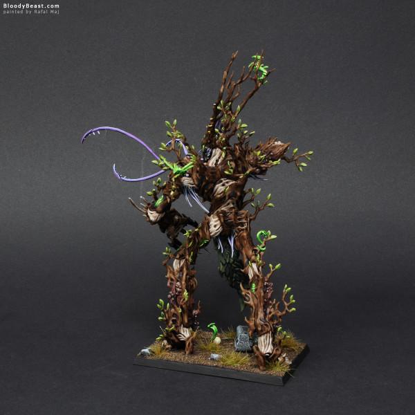Wood Elves Treeman painted by Rafal Maj (BloodyBeast.com)