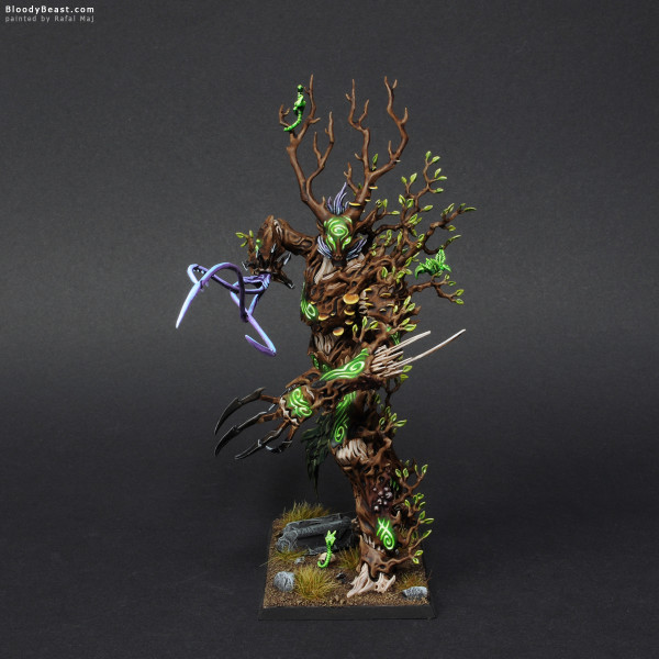 Wood Elves Treeman painted by Rafal Maj (BloodyBeast.com)