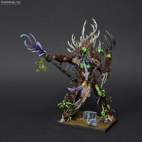 Wood Elves Treeman Ancient painted by Rafal Maj (BloodyBeast.com)