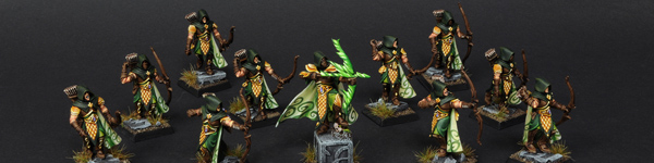 Wood Elves Waywatchers with Waystalker