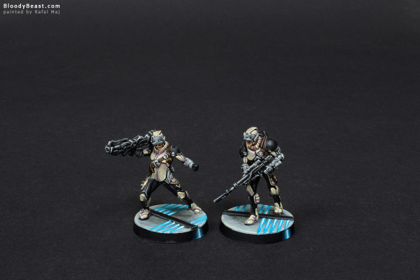 Aleph Agema Marksmen painted by Rafal Maj (BloodyBeast.com)