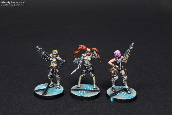 Aleph Chandra Spec-Ops, Nesaie Alke and Dactyls painted by Rafal Maj (BloodyBeast.com)