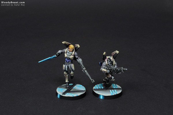 Aleph Diomedes and Ekdromoi HMG painted by Rafal Maj (BloodyBeast.com)