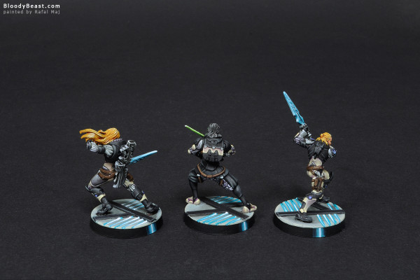 Aleph Patroclus, Thrasymedes and Achilles painted by Rafal Maj (BloodyBeast.com)
