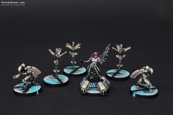 Aleph Support Pack painted by Rafal Maj (BloodyBeast.com)