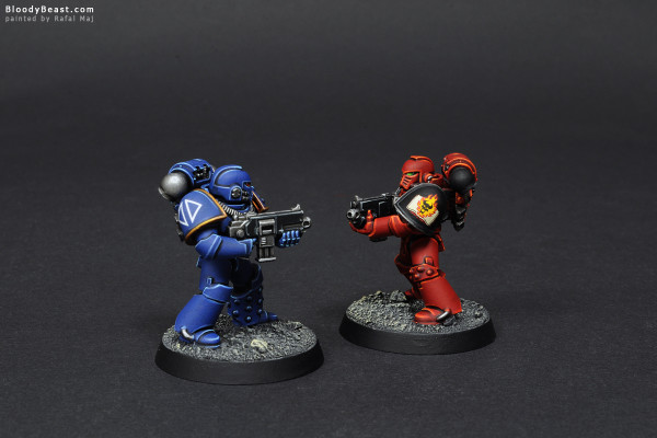 Betrayal at Calth Brother Against Brother painted by Rafal Maj (BloodyBeast.com)