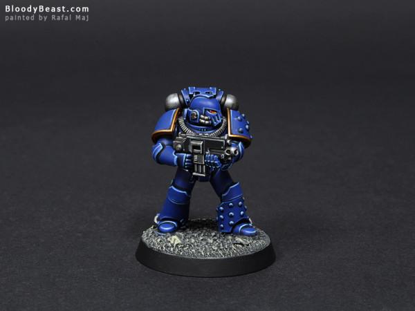 Ultramarines Test Model painted by Rafal Maj (BloodyBeast.com)