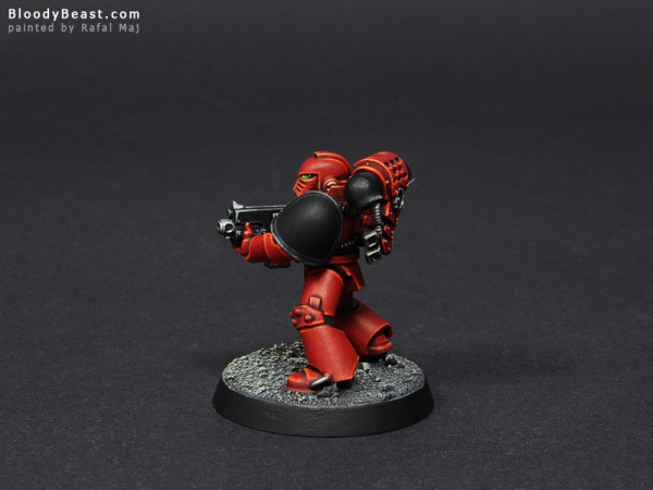Word Bearers Test Model painted by Rafal Maj (BloodyBeast.com)
