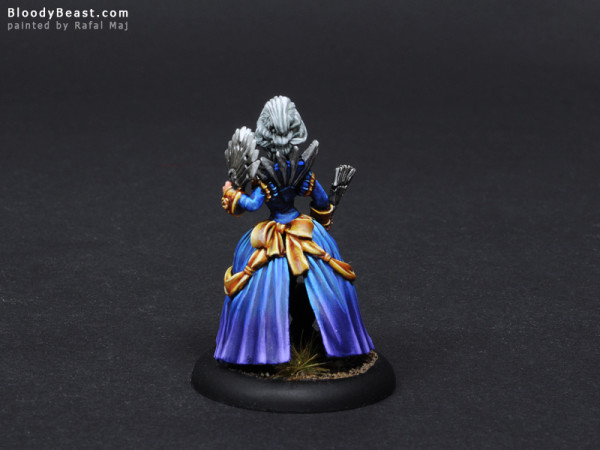 Freebooter Queen of Shadows as Anastasia di Bray painted by Rafal Maj (BloodyBeast.com)