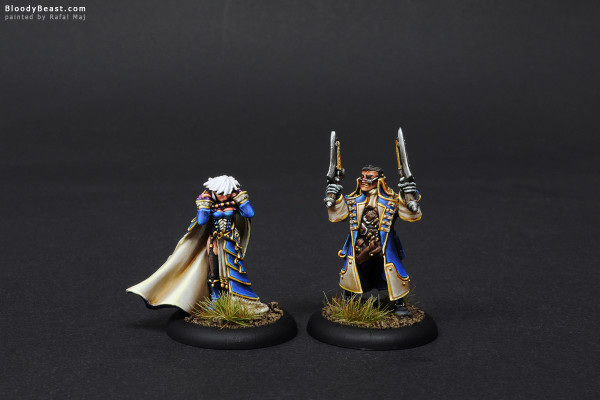 Lady Aiyana and Master Holt front painted by Rafal Maj (BloodyBeast.com)