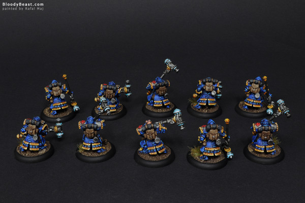 Horgenhold Forge Guard painted by Rafal Maj (BloodyBeast.com)