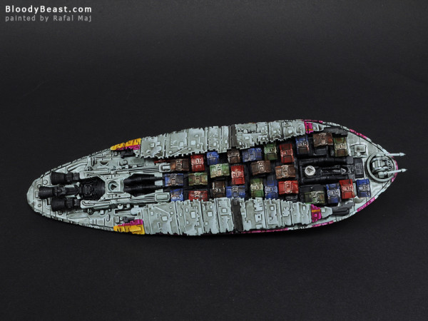 Star Wars GR-75 Medium Transport painted by Rafal Maj (BloodyBeast.com)