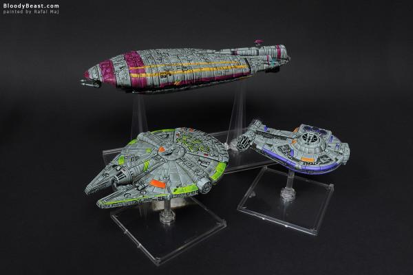 Star Wars Starships 3 painted by Rafal Maj (BloodyBeast.com)