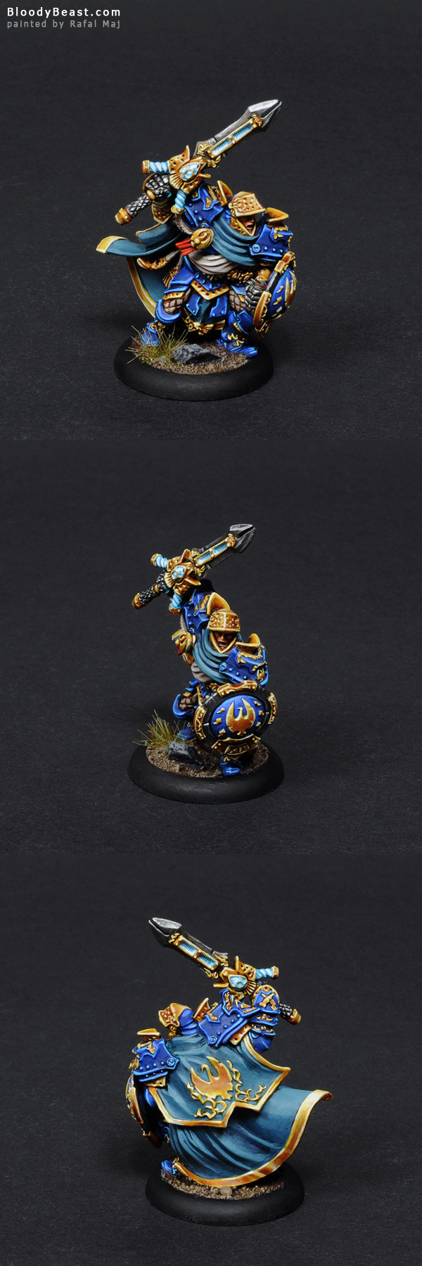 Stormblade Captain painted by Rafal Maj (BloodyBeast.com)