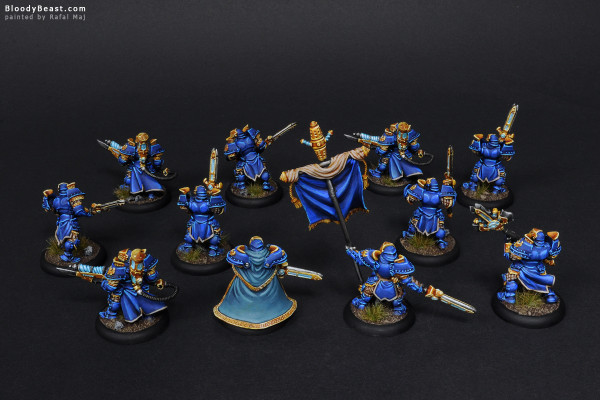 Stormblade Infantry And Storm Gunners painted by Rafal Maj (BloodyBeast.com)