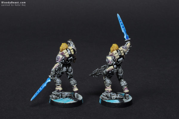 Aleph Achilles V2 in Hoplite Armor (Official Release and Limited Edition) Back painted by Rafal Maj (BloodyBeast.com)
