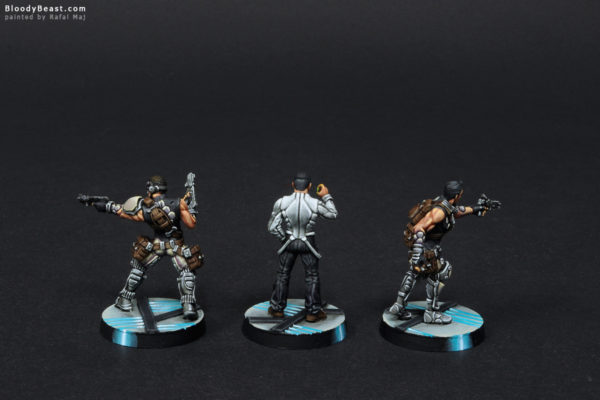 Aleph Dactyls Doctor, High Functionary, Acmon Back painted by Rafal Maj (BloodyBeast.com)