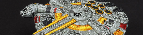Star Wars Millenium Falcon UFO-1300