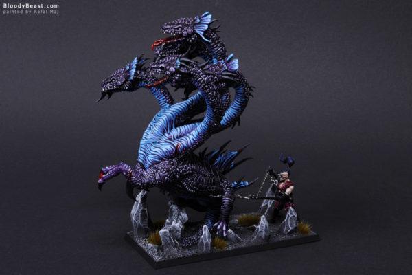 Dark Elves Black War Hydra Side painted by Rafal Maj (BloodyBeast.com)