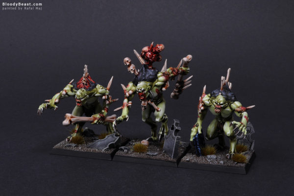 Crypt Horrors Front 1 painted by Rafal Maj (BloodyBeast.com)