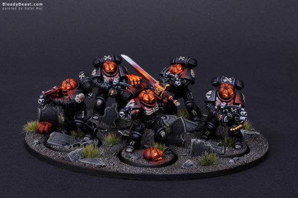 Primaris Legion of the Damned Pumpkin 1