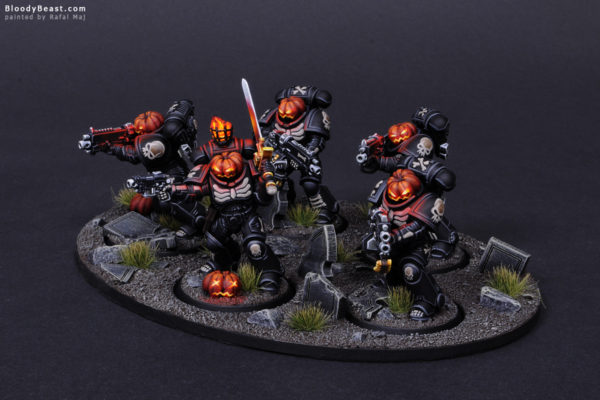 Primaris Legion of the Damned Pumpkin 2