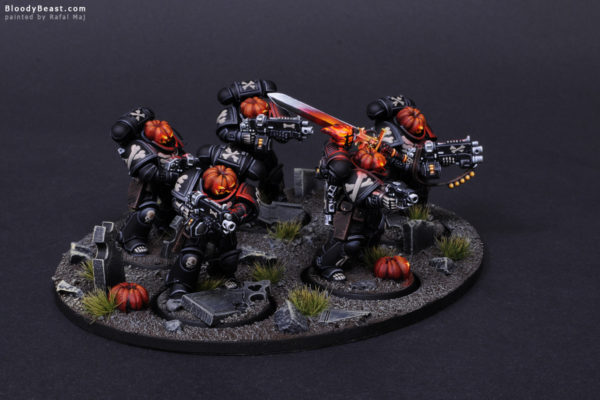 Primaris Legion of the Damned Pumpkin 3