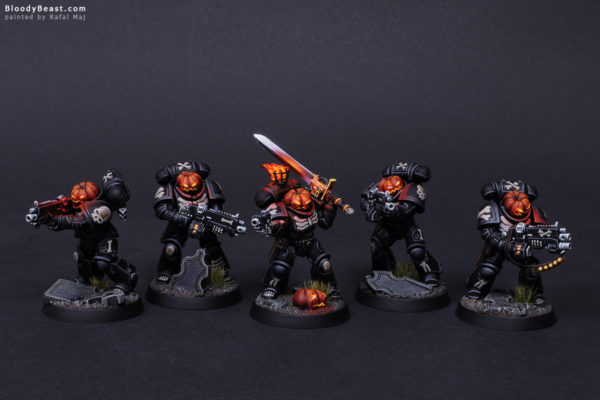 Primaris Legion of the Damned Pumpkin 5