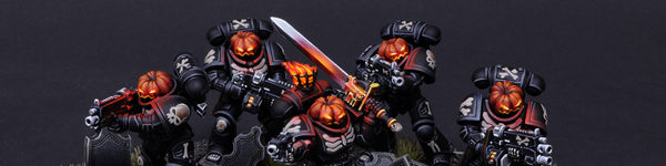 Primaris Legion of the Damned Pumpkin